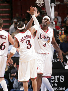Allen-Iverson-i-Chris-Webber