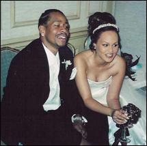 Iverson-w-dniu-ślubu