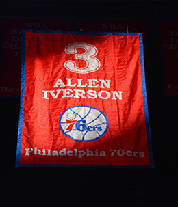 Allen Iverson #3 Sixer Forever