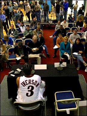 Allen Iverson w mediach