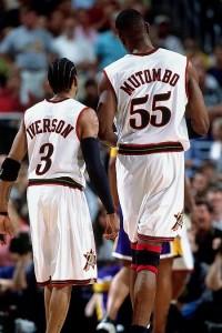 Mutombo & Iverson