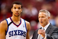Michael Carter-Williams & Brett Brown