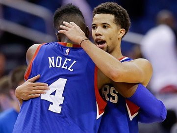 Nerlens Noel & Michael Carter-Williams