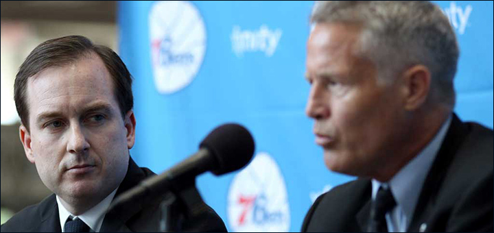 Sam Hinkie + Brett Brown