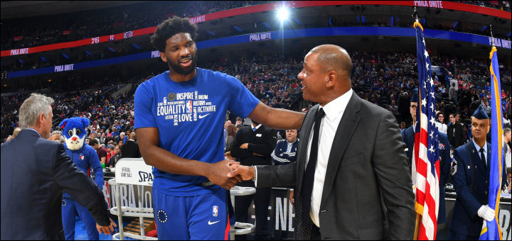 Doc Rivers & Joel Embiid