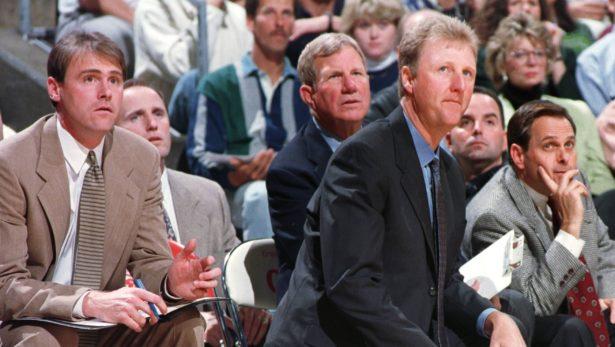 Dan Burke & Larry Bird