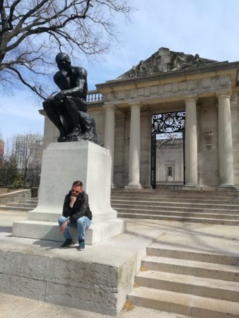 The Thinker in Philly