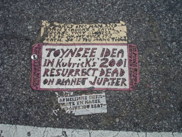 Toynbee tile - Phily