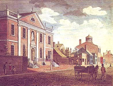 LCP building in 1800