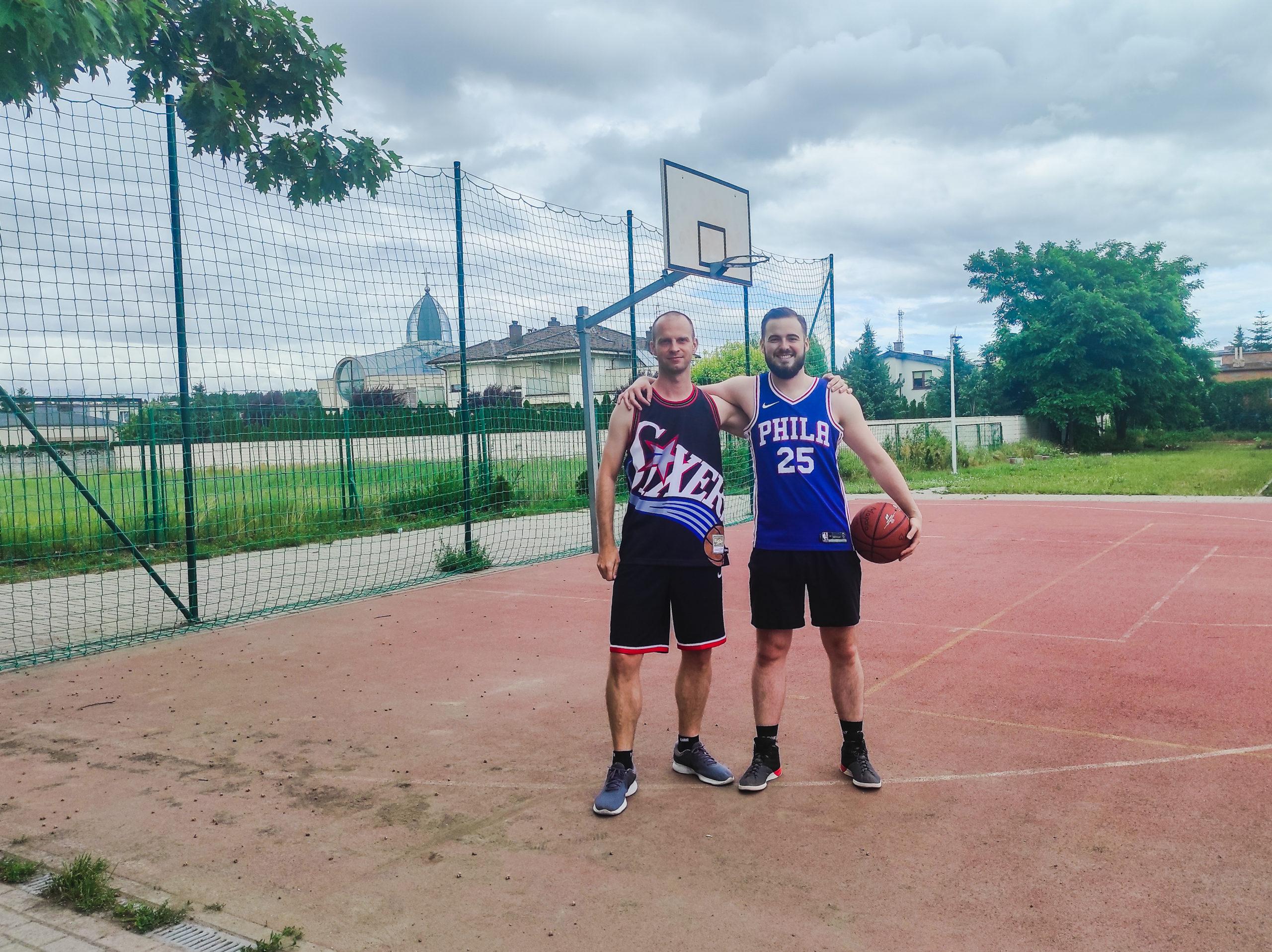Tomek i Mateusz - twórca strony i zastępca red. naczelnego podczas spotkania na żywo - Poznań, czerwiec 2021